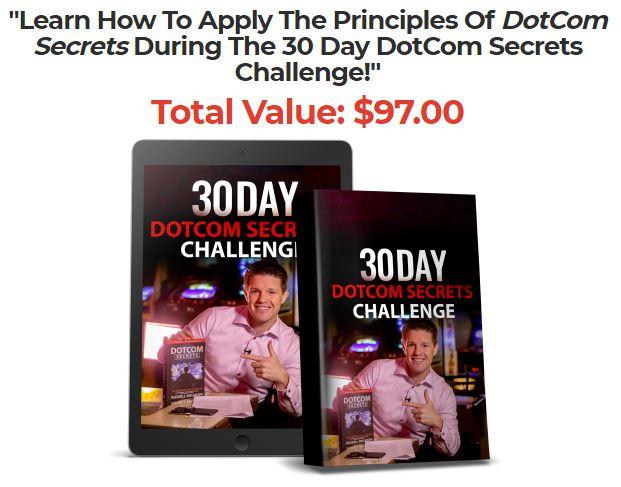 30 Day DotCom Secrets Challenge!