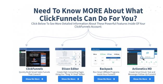 Clickfunnels about more information