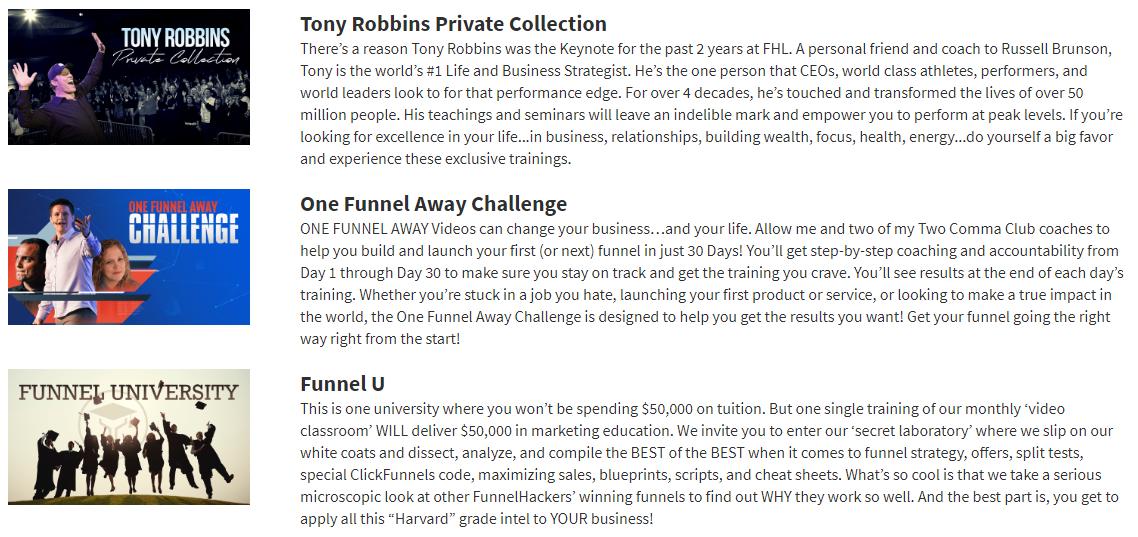 courses Tony Robbins