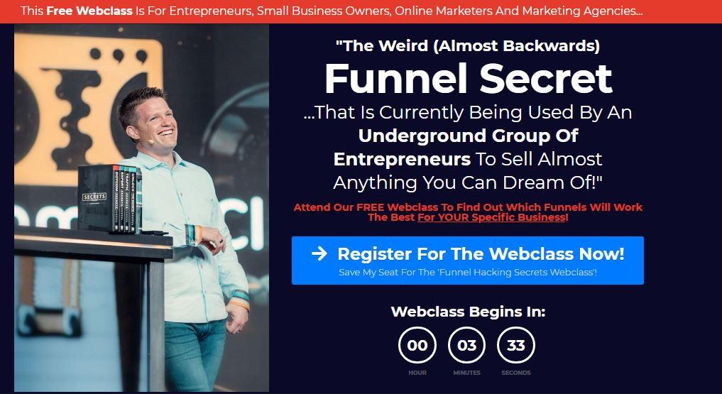 funnel hacking secrets sign up