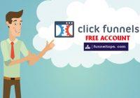 Clickfunnels free acount