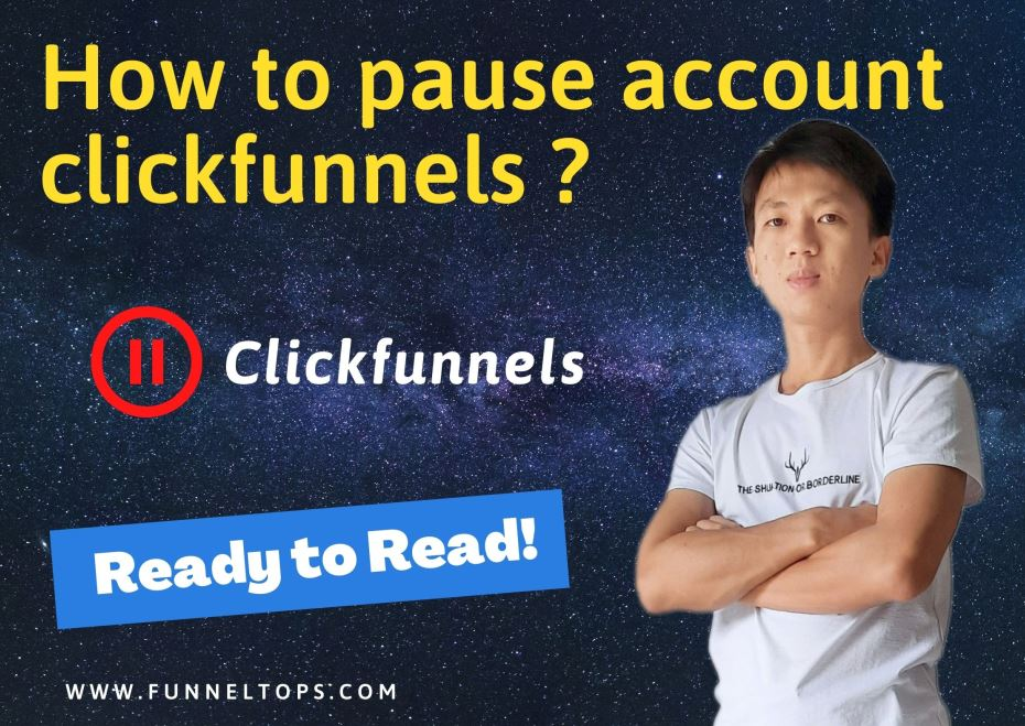 How to pause account clickfunnels