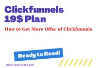 Clickfunnels 19$ Plan - How to sign up?