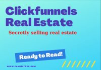 Real Estate with clickfunnel