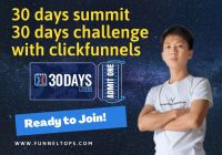 30 days summit with clickfunnels