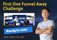 First one funnel away challenge