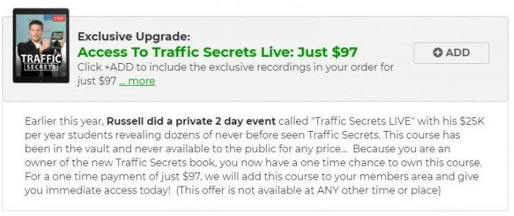 Traffic Secrets Live Event Recordings